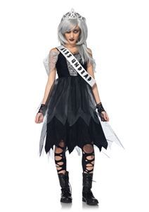 Zombie Prom Queen Junior Girls Costume