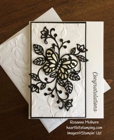 Stampin Up Flourishing Phrases Congratulations Cards Idea - Rosanne Mulhern Heartfelt Stamping