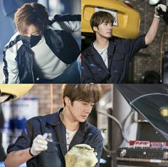 Jung Il Woo @ Cinderella and the Four Knights airs August 2016