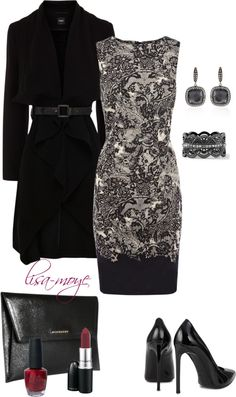"""""""Dash of red"""" by lisa-moye on Polyvore"""