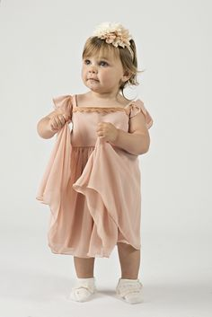 Delicate & Charming Flower Dress for Your Baby Girl