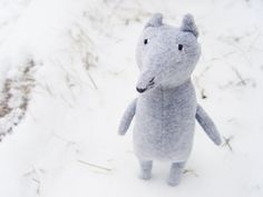Fox stuffed toy plush toy fox от NaBakir на Etsy
