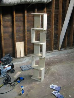 $10 in scrap plywood can yield this handsome 5' tall bookshelf.