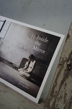 """""""Inside the Mirror"""" - Monia Merlo photographer, flyer — I think Alessandro Zaltron, the writer for the 'Inside the Mirror' exhibition, summed it up very well.  """"FROM THE DISAPPOINTMENT CAUSED BY A RELATIONSHIP, FROM THE EFFORT TO RISE UP AGAIN TO THE EFFORT TO ANALYSE ITS SELF, THE WOMAN COMES TO UNDERSTAND: SADNESS AND DISSATISFACTION COME FROM THE SYMBIOTIC BOND WITH THE FOSSILISED IMAGE OF HERSELF. TO CHANGE, A PERSON MUST BECOME DIFFERENT – FROM WHAT OTHERS EXPECT. IT SEEMS OBVIOUS: TO…"""