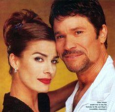 Bo and Hope Girls Ask, Days Of Our Lives, Another World, Believe, Hair Beauty, It Cast, Santa Barbara, Face, The Face