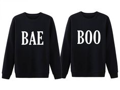 My Bae My Boo Shirt Matching Couple Sweatshirt Matching. This simple and cute BAE and BOO Sweatshirts will be an awesome way for others to really notice you and your Boyfriend or Girlfriend are a happy power couple not to be messed with.   These sweatshirts make a great gift for your better half birthday, anniversary, Christmas, or any special occasion.
