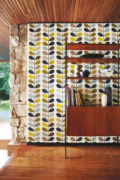 Orla kiely wallpaper. Repinned by Secret Design Studio, Melbourne.  www.secretdesignstudio.com