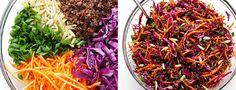 Découvrez notre recette de salade végétarienne très fraîche et rapide à préparer, idéale pour un soir d'été en semaine ou un pique-nique le week-end.