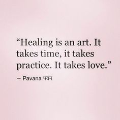 Let's practice the art of healing at LoveLifeTBD.com
