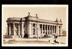1915 Real Photo PPI Exposition Washington Bldg Postcard