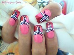 146 Best Breast Cancer Awareness Nail Art Images On Pinterest In