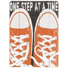 I pinned this One Step At A Time Wood Sign from the Accents Under $75 event at Joss and Main!