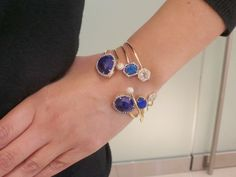 Double Opal Bangle with Diamonds  by Jemma Wynne, at Ylang | 23