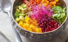 Manger végétarien et assimiler tous les nutriments et protéines nécessaires à un corps en bonne santé, c'est possible avec le buddha bowl !