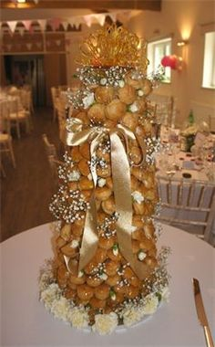 coast cakes - Croquembouche wedding