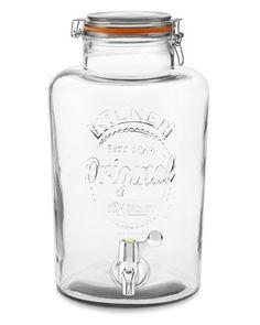 Kilner Clip-Top Jar Beverage Dispenser #williamssonoma