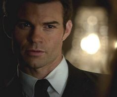 Daniel Gillies portrays the character of Elijah Mikaelson.......
