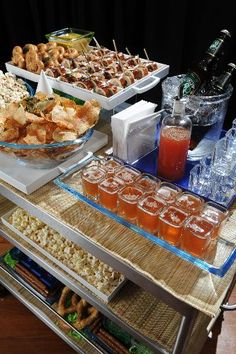 Image result for appetizer cart at events
