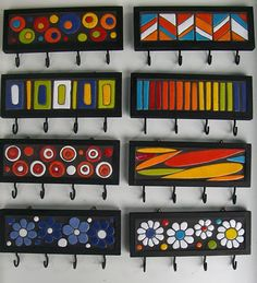 Great Artist - Yemina Serodino Mosaic Diy, Mosaic Crafts, Mosaic Projects, Mosaic Wall, Mosaic Glass, Mosaic Garden, Fused Glass, Stained Glass, Wood Crafts
