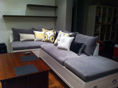 We are a Toronto-based home decorating studio focusing on window coverings, general contracting, home consulting, and upholstery. Sofa, Couch, Window Coverings, Upholstery, Windows, Studio, Furniture, Home Decor, Settee
