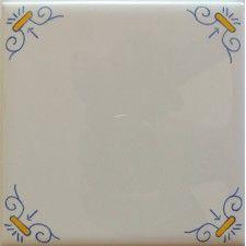 Yellow & Blue Ram (White Tile)
