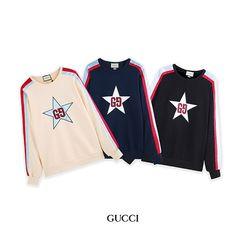 Gucci(グッチ)星LOGO sweatshirts Gucci, Sweatshirts, Jackets, Iphone, Fashion, Down Jackets, Moda, Trainers, Jacket