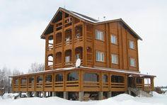 Лучший дом блог компании: Деревянные дома под ключ