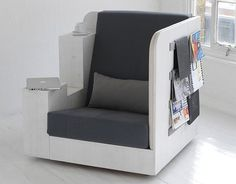 OpenBook Chair: Your Own Mini Study @ IPPINKA