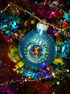 DAVE MATTHEWS BAND Glass Glitter Resin Christmas Ornament by evago, $9.99-I need this!!!