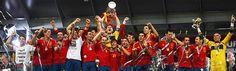 España capeona de la Eurocopa - soccer - Spain
