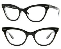 Black cat-eyes - Ray-Ban at FramesDirect, $144 | 19 Essential Statement-Making Glasses Frames  I'm in the market for new glasses.