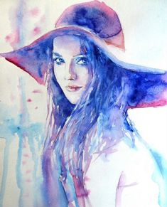 Abstract Watercolor Paintings   Watercolor Paintings by Lana Khavronenko
