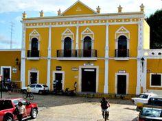 IZAMAL YUCATAN MEXICO - HOTEL LOCATED ACROSS FROM MAIN SQUARE
