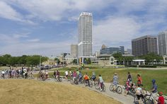 2012 New Belgium Tour de Fat Bike Parade. (July 14, 2012) by The Bike Fed, via Flickr #fatbike #bicycle