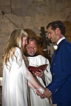 The vows in our 12th century chapel