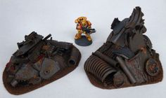 6 x Junkyard Pieces Scenery Terrain Wargames Wargaming Necromunda Warhammer Ork | eBay