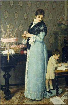 Lega La madre - Silvestro Lega - Wikimedia Commons