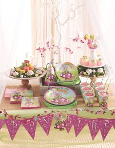 Purchase all your fabulous Disney Tinker Bell Fairy party supplies, tableware and decorations right here Online for fast, easy shopping. Fancy Birthday Party, Fairy Birthday, Birthday Party Themes, Birthday Ideas, Discount Party Supplies, Online Party Supplies, Rainbow Fairies, Party World, Party Supply Store