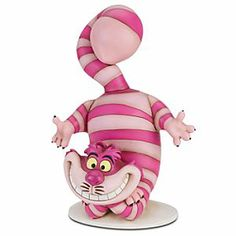 Disney Alice in Wonderland Cheshire Cat Garden Statue | The Cheshire Cat statue will make everything bloom with whimscial fun.