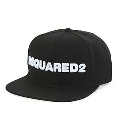 DSQUARED2 Large Logo Snapback Cap. #dsquared2 #hats
