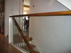 Bilderesultat for rekkverk glass trapp