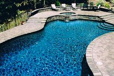 Blue Lagoon Pebble Technology International Pool Ideas