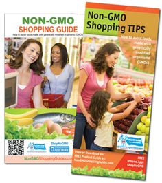 Non-GMO Shopping Guide, something to be informed about.