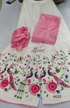 Designer Punjabi Suits, Indian Designer Outfits, Latest Suit Design, Suits For Women, Clothes For Women, Embroidery Suits Design, Afghan Dresses, Selling Design, Kurti Neck Designs