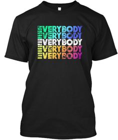 Logic Everybody Hoodie Limited Edition Black T-Shirt Front