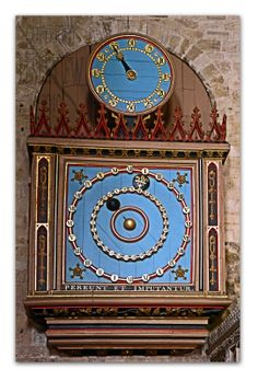 Exeter Cathedral Astronomical Clock Exeter Cathedral, Cathedral City, Exeter City, Tick Tock Clock, Unusual Clocks, Clock Shop, Clock Display, Old Clocks, Time Clock