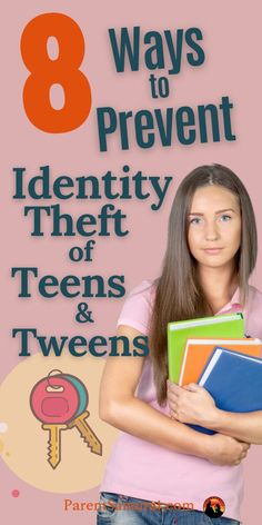 Did you know that the average age of an identity theft victim is just 12 years old? Many people think that identity theft is an adult problem, but more kids are targeted every year than adults. Here are 8 simple hacks that you can do right now to protect your teen's identity. #identitytheft #identityfraud #parentingteens #teenagers #teens #tweens #socialsecuritynumber #creditreport Parenting Teenagers, Parenting Teens, Single Parenting, Parenting Quotes, Parenting Hacks, Lost Wallet, Identity Fraud, Strangers Online, Credit Reporting Agencies