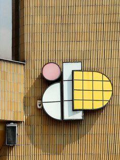 Shopping Center Sign - Kassa / Kosice - Slovakia.