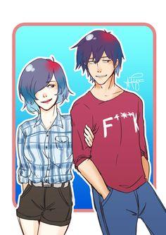 Ayato and Touka!! :)