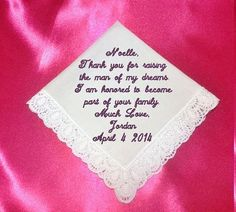 Mother of Groom Heirloom Embroidered by RidgeTopEmbroidery on Etsy